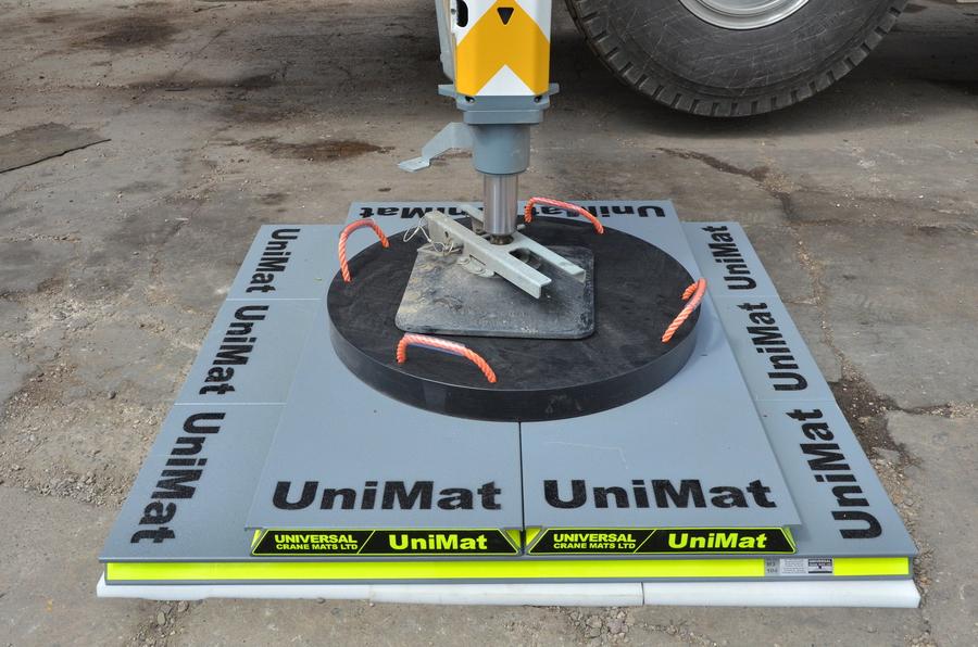 Modular Exhibition Stand Goals : Universal crane mats ltd the uk load spread specialists